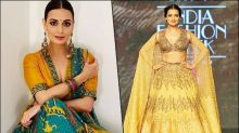 Dia Mirza's Vibrant Lehengas Are Worth-buying For the Upcoming Wedding Season
