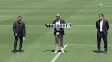 Manuel Pellegrini es presentado con el Betis