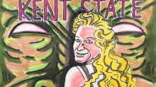 Jim Carrey's Latest Painting Slams Kent State 'Goldilocks' And Her AR-10