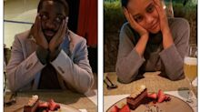 Lázaro Ramos e Taís Araújo comemoram 15 anos juntos com jantar romântico
