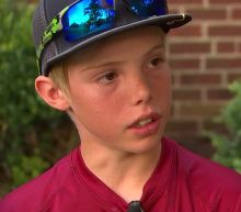 'It went by really fast:' 11-year-old boy explains how he thwarted suspected burglar with machete