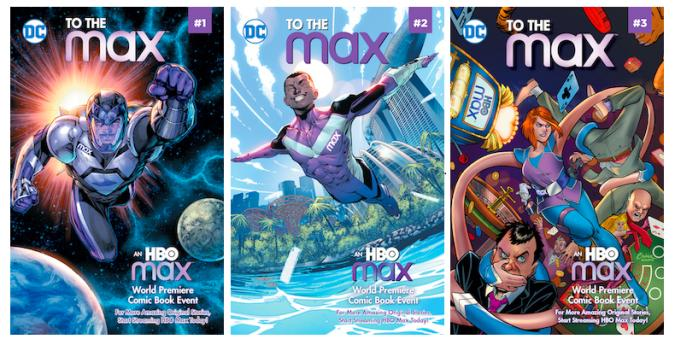 HBO and DC's To The Max comics