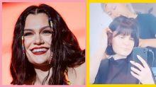 Jessie J just got a blunt fringe cut in circa 'Do It Like a Dude'
