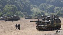 S Korea, US scale back drills over virus, N Korea diplomacy