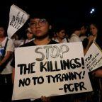 Philippine Catholics protest drug killings, death penalty