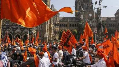 Cracks start showing in the Maratha Kranti Morcha as sides are picked for Maharashtra civic polls