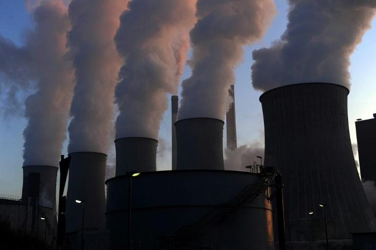 The concept of a carbon budget is dead simple: figure out how much CO2 humanity can pump into the atmosphere without pushing Earth's surface temperature beyond a dangerous threshold (AFP Photo/PATRIK STOLLARZ)