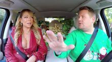 Mariah Carey made James Corden wait, so he stole something from her house