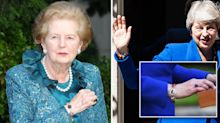 Theresa May's bracelet 'very possibly' the same one worn by Margaret Thatcher