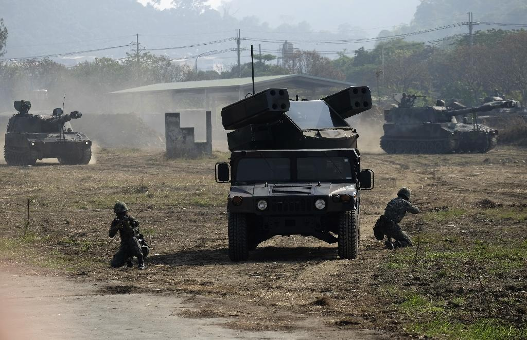 Taiwan holds military exercises simulating an attack by China as relations with Beijing deteriorate