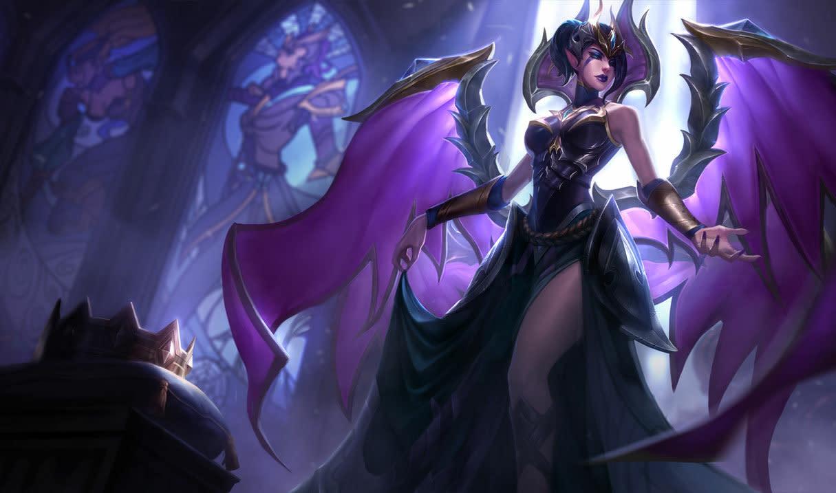 魔甘娜對3格內的敵人發射鎖鍊,造成魔法傷害並緩速,在3秒後,如果敵人仍被鎖鍊連接,魔甘娜將對他們再次造成魔法傷害並暈眩目標