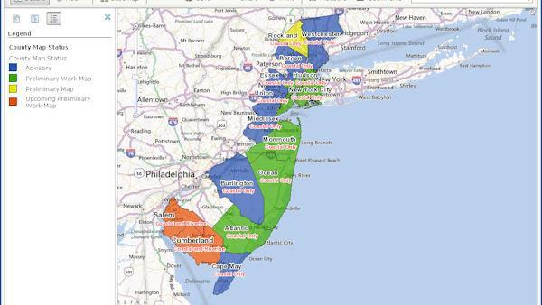 Post-Sandy flood maps bring some relief to New Jersey coast