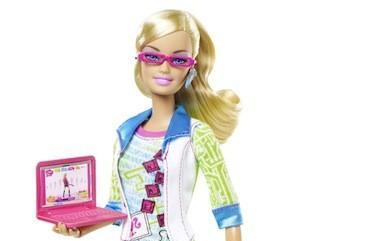 Computer Engineer Barbie now available, and her phone has been upgraded since we last saw her