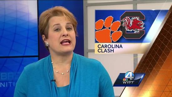 Rivalry brings Clemson, Carolina greats, fans together for good cause