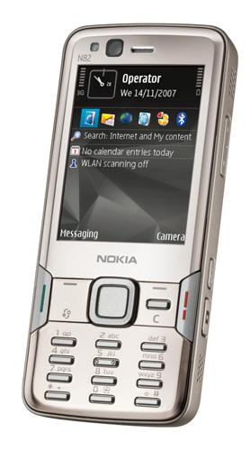 The Nokia N82 gets official