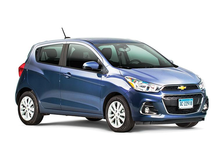 2017 Chevy Spark Review - YouTube