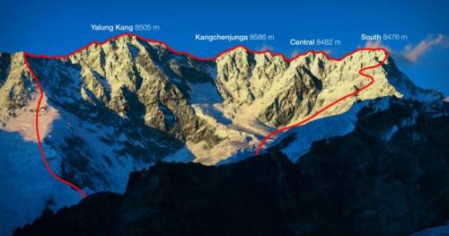 Alpinisme - Tamara Lunger et Simone Moro engagés sur une traversée historique au-dessus de 8000m d'altitude