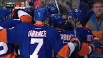 Kyle Okposo goes top-shelf for OT winner