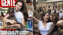 Fuerte polémica por unas fotos de Natalia Oreiro en África