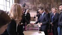 French ex-president Sarkozy held for questioning over inquiry leaks
