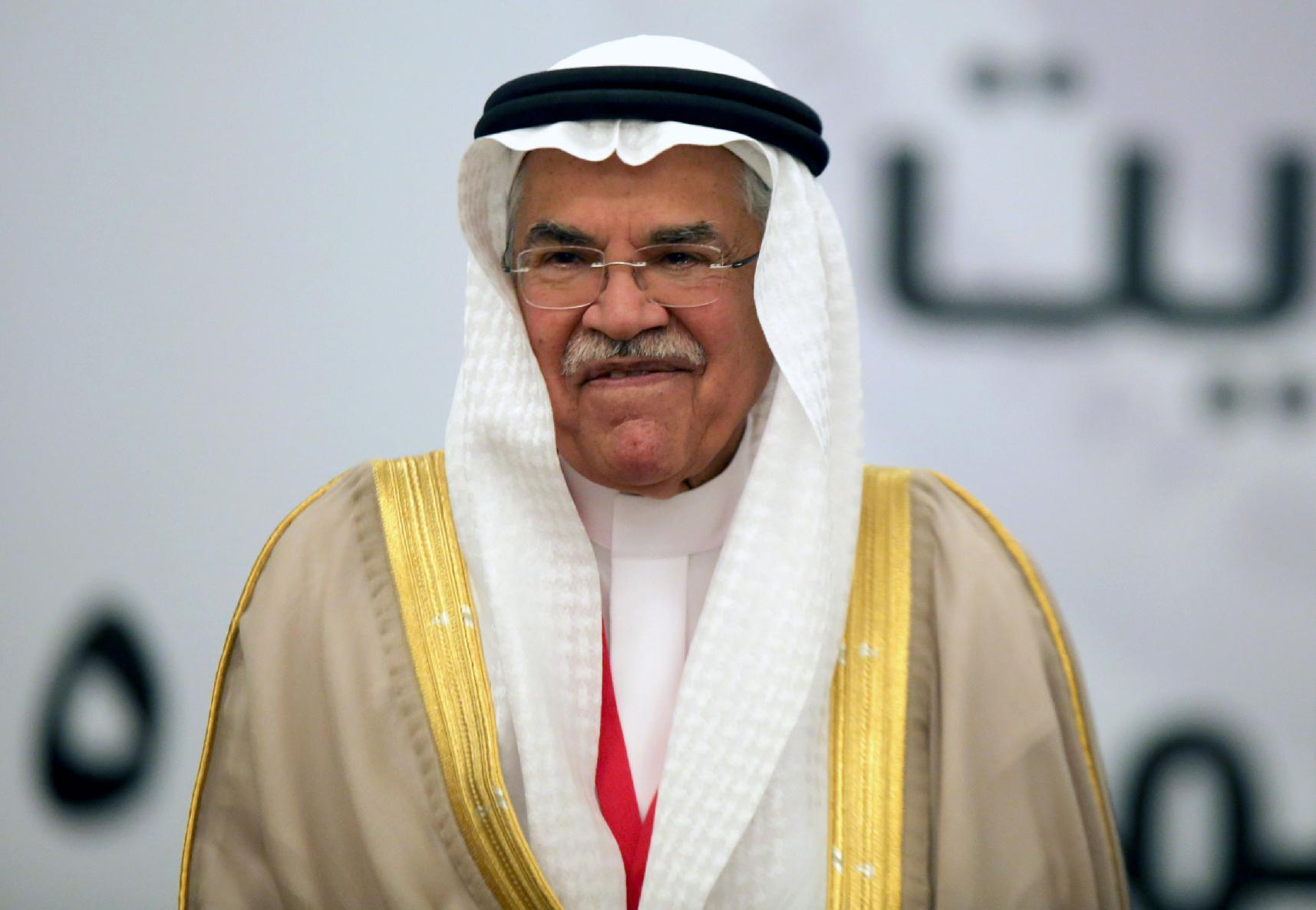 Saudi oil minister Ali Al-Naimi attends the Gulf Cooperation Council (GCC) oil ministers meeting in Kuwait city, on September 11, 2014 (AFP Photo/Yasser al-Zayyat)