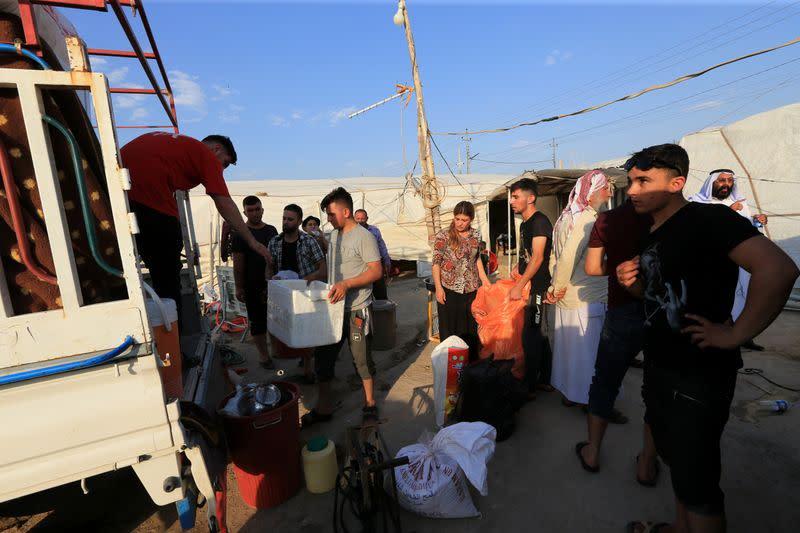 Displaced Yazidis head back to Sinjar as coronavirus lockdown bites