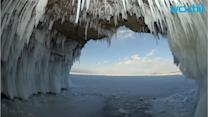 Ice Cave Collapses, Killing 1