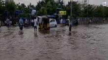 Andhra Pradesh: Water logging reported in Krishna district following heavy rains
