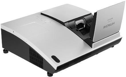 Hitachi's CP-A100 projector brings short-throw within US distance