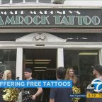 LA Chargers offer free team tattoos at Hollywood parlor