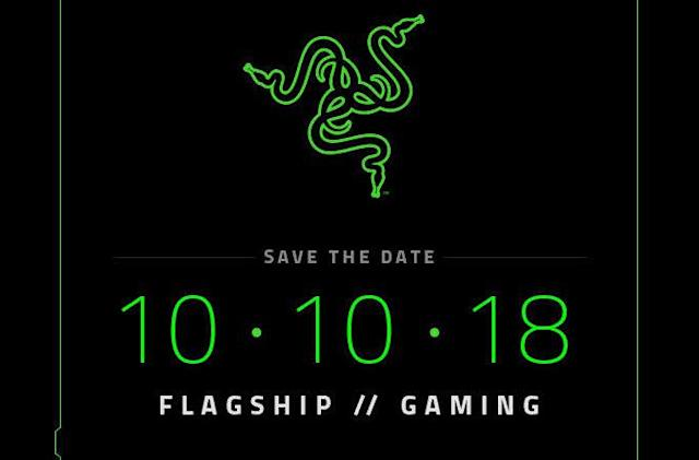 Razer is expected to unveil its second phone on October 10th