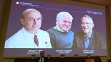 US-British trio win Nobel Medicine Prize for Hepatitis C discovery