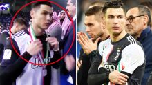 'Should be ashamed': Outrage over 'disrespectful' Cristiano Ronaldo act