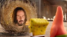 Keanu Reeves makes a bizarre cameo in new 'SpongeBob Movie' trailer