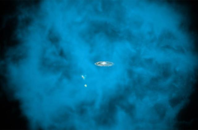Milky Way's spinning 'halo' helps reveal how galaxy formed
