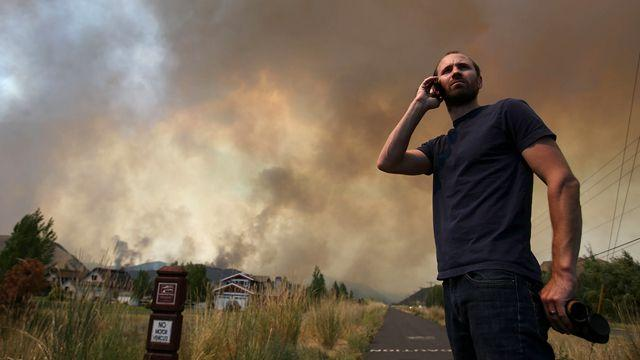 Wildfire rages into 12th day in Idaho