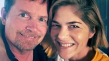 Selma Blair Poses with Michael J. Fox After Revealing He's Guided Her Since MS Diagnosis