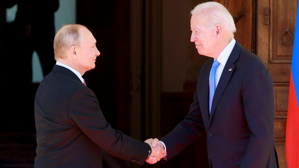 Biden vows US action over Russian cyber-attacks