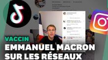 Covid-19: Macron sur Tiktok et Instagram pour répondre aux antivaccins