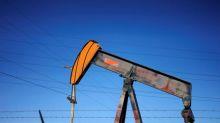 Oil prices fall 1 percent as China warns of job losses, Korea growth stalls