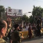 Jalalabad Residents Cheer for Afghan Forces Who Put Down Prison Attack