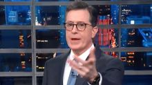 Colbert Hits Trump For Attacking 'SNL,' Ignoring Alleged White Nationalist Terror Plot