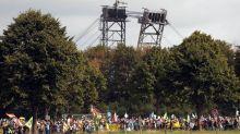 Demo und Besetzung in Garzweiler