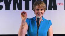 "Cynthia Nixon hits back at ""unqualified lesbian"" jibe"