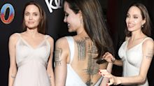 The ultimate guide to Angelina Jolie's growing tattoo collection