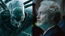 """Ridley Scott quiere que su saga de Alien esté """"al nivel de Star Wars"""""""