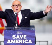 Trump lawyer Rudy Giuliani sued by Dominion voting machine firm