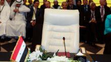 Syria's return to Arab League not on summit agenda: spokesman