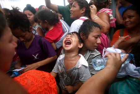 Image result for migrants caravan