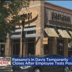 Davis Paesanos Employee Tests Positive